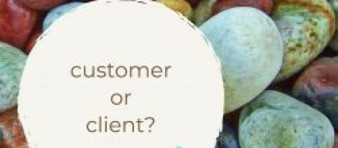 customer or client